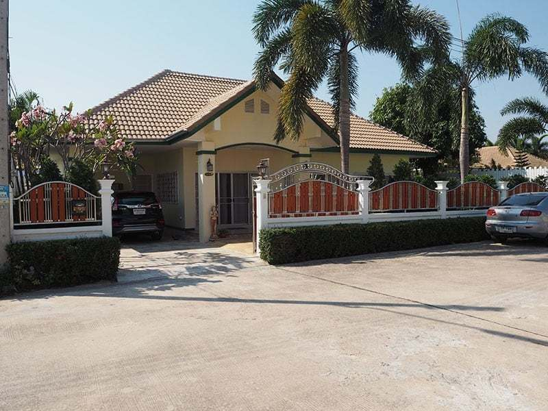 Home for sale in Hua Hin Thailand Front