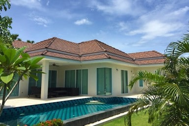 Red Mountain Hua Hin villa for sale outside 3