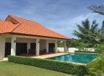 Pool villa for sale in Hua Hin close to Black Mountain garden