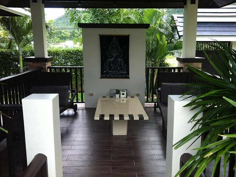 Palm Hills Hua Hin villa for sale garden 2