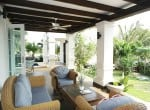Banyan pool villa for sale in Hua Hin Thailand covered terrace