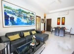 Small pool vila for sale in Hua Hin dining