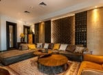 Luxury golf course villa for sale in Hua Hin entertaiment room