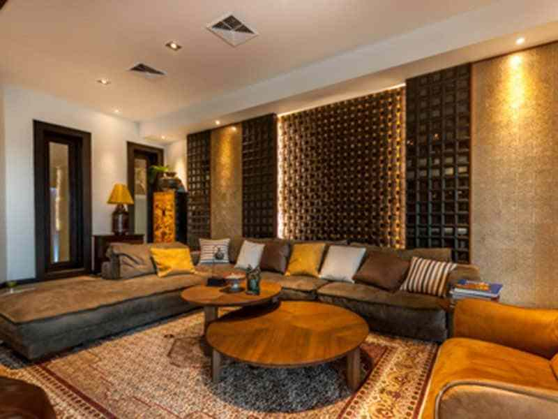 Luxury golf course villa for sale in Hua Hin entertainment room