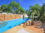 Small pool vila for sale in Hua Hin pool view