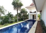 Banyan pool villa for sale in Hua Hin Thailand pool view