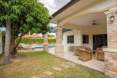 Hua Hin Orchid Paradise Homes for sale Front view