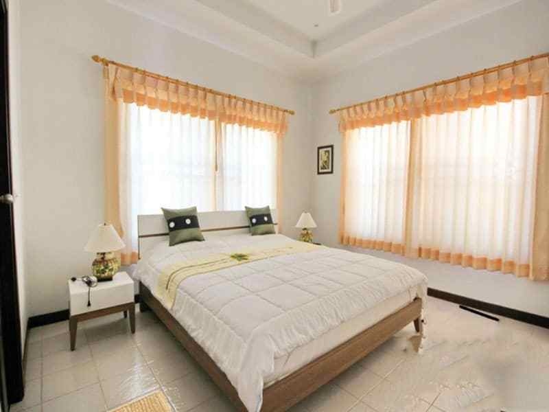 Small pool vila for sale in Hua Hin guest room