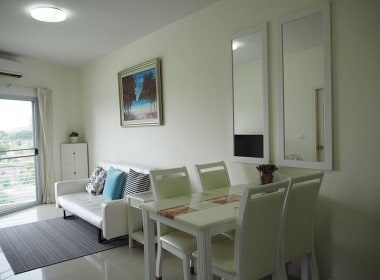 Flametree apartment for rent Hua Hin - living area
