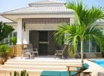 Small pool vila for sale in Hua Hin front view
