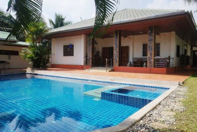 Pool villa for sale in Hua Hin veranda