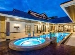 Palm Hills Hua Hin villa for sale Pool 1