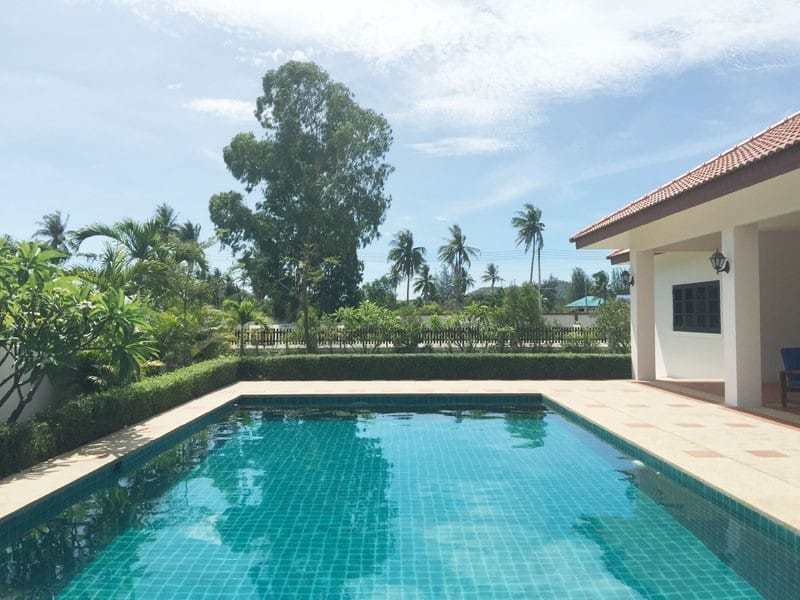 Pool villa for sale in Hua Hin close to Black Mountain view
