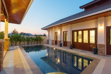 High quality house for sale in Hua Hin swiming pool