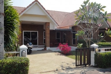 Hua Hin Dusita home for sale front view