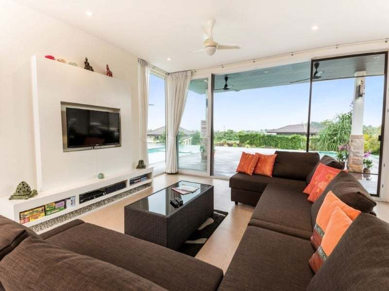 Hua Hin The Spirit villa for sale lounge