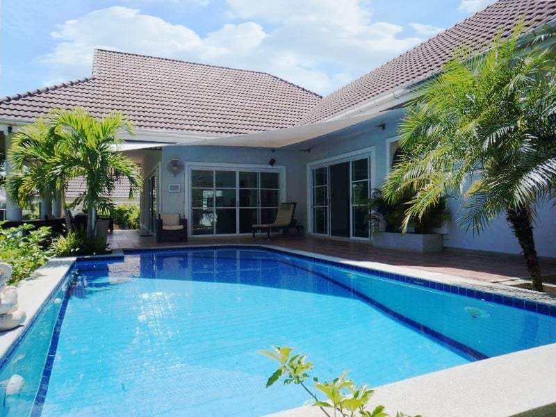 Private pool property for sale Hua Hin pool and house