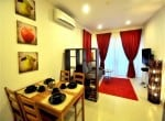 Hua Hin Seacraze apartment for sale best price - living area