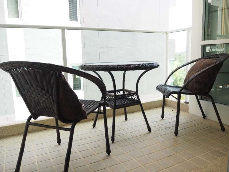 Cheap The Breeze apartment for sale Hua Hin balcony