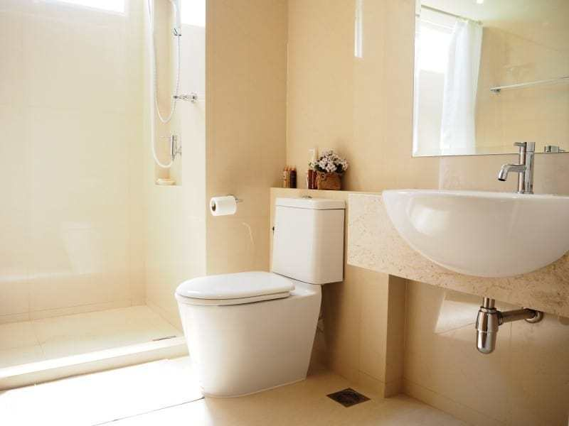 Cheap The Breeze apartment for sale Hua Hin bathroom