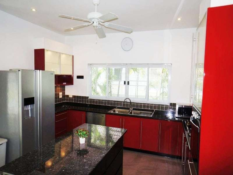 Private pool property for sale Hua Hin euro kitchen