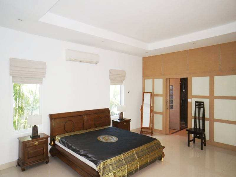 Private pool property for sale Hua Hin master bedroom