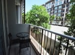 Best price condo Hua Hin for sale - balcony