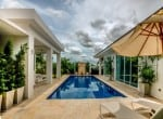 Modern home with pool for sale Hua hin garden view