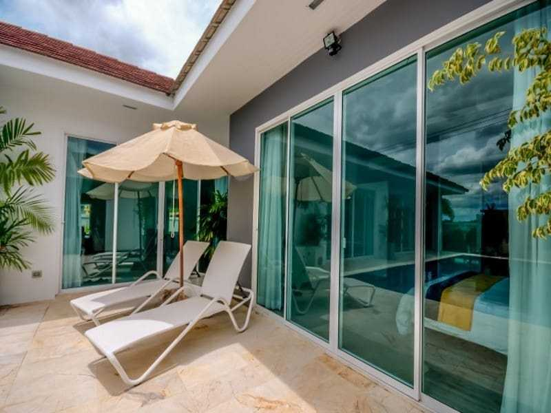 Modern home with pool for sale Hua hin terrace