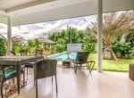 Modern villa with pool for sale terrace