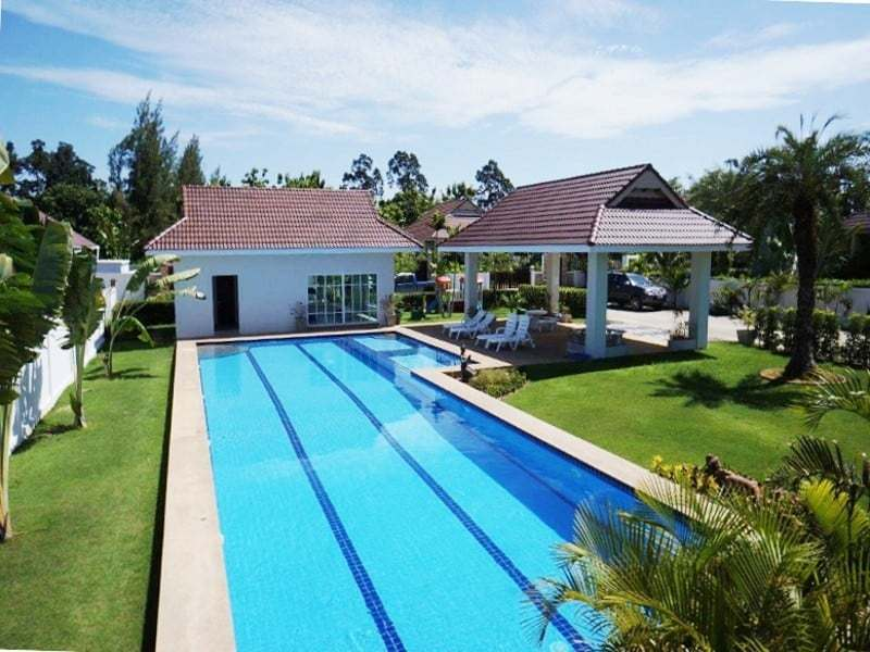 Private pool property for sale Hua Hin communal pool