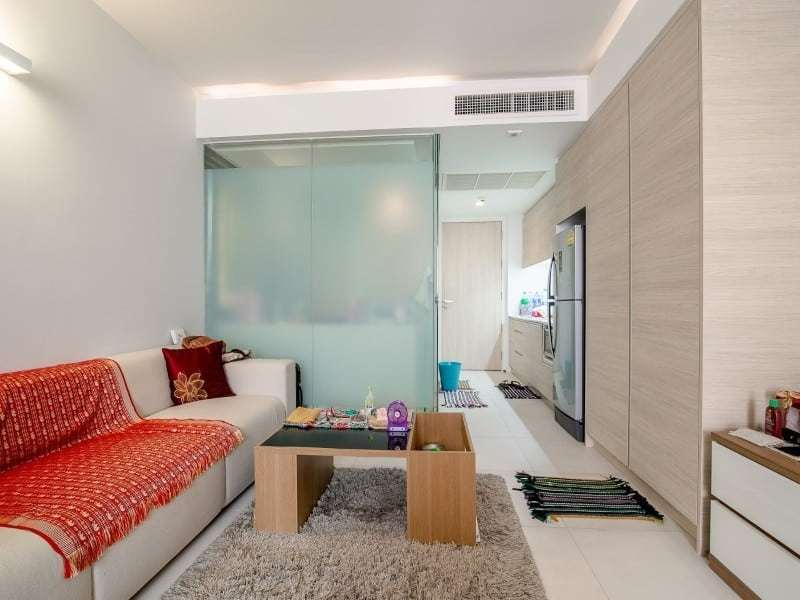 Apartment for sale The Sanctuary Hua Hin - living area
