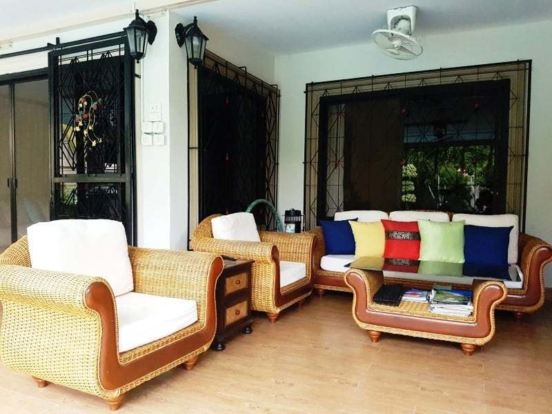 Mature Hua Hin house for sale outdoor