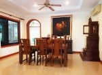 Mature Hua Hin house for sale dining
