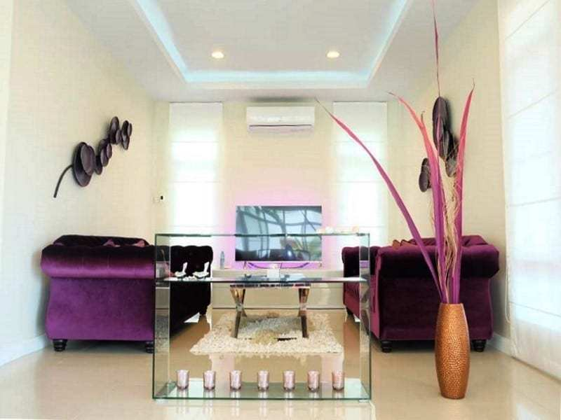 Modern townhouse Hua Hin for sale lounge