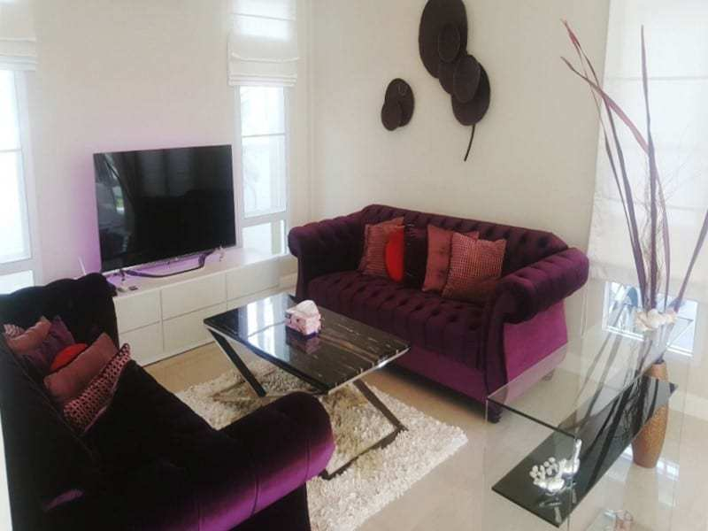 Modern townhouse Hua Hin for sale lounge 2