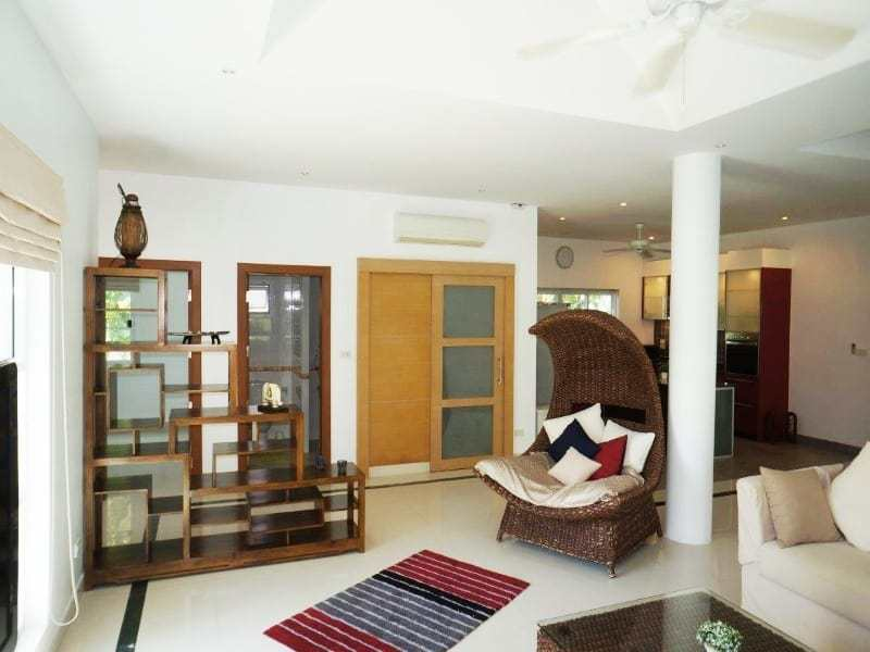 Private pool property for sale Hua Hin living