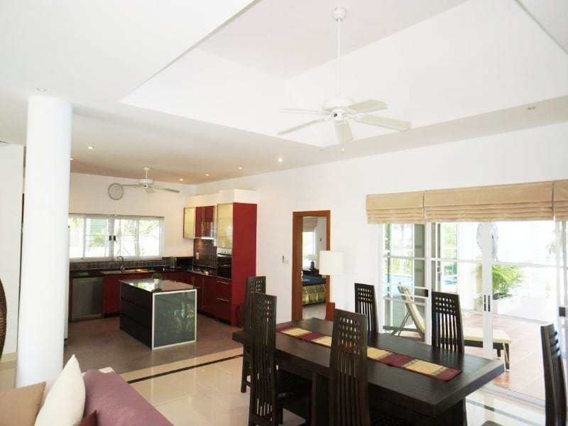 Private pool property for sale Hua Hin dining