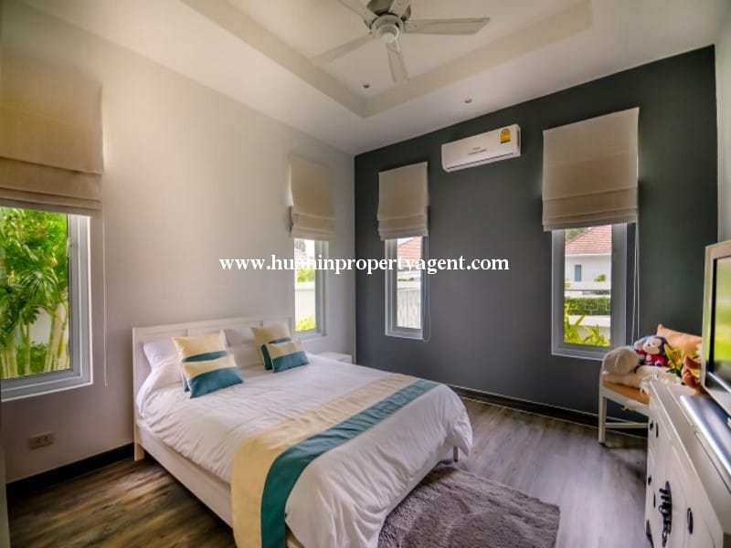 Modern home with pool for sale Hua hin guest room