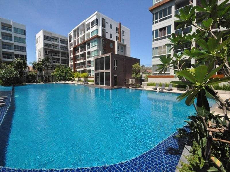 Best price condo Hua Hin for sale - pool