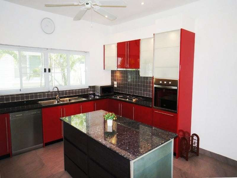 Private pool property for sale Hua Hin kitchen