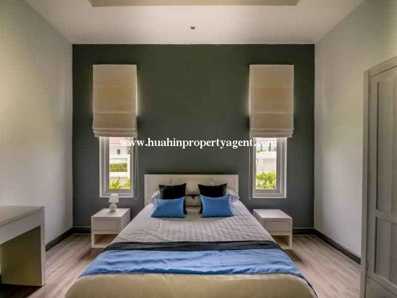Modern home with pool for sale Hua hin master bedroom
