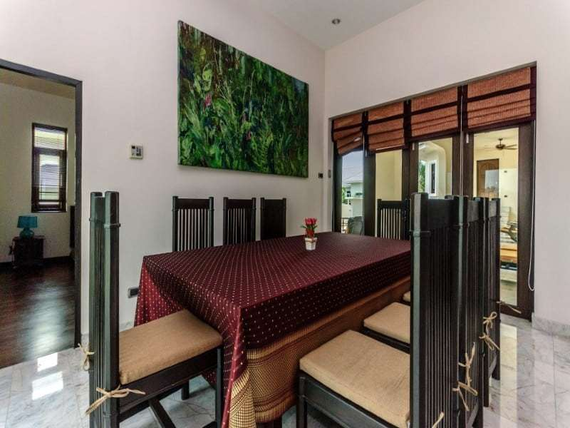 Home for sale next to Black Mountain Golf dining area