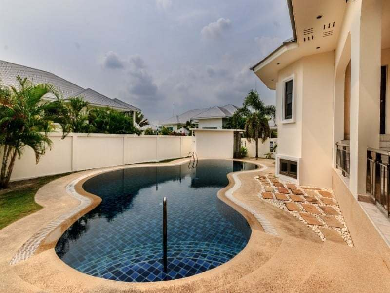 Home for sale next to Black Mountain Golf pool