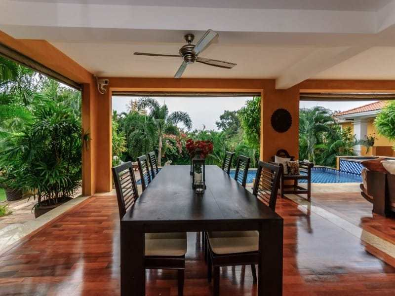 Luxury Hua Hin residential home for sale outdoor dining