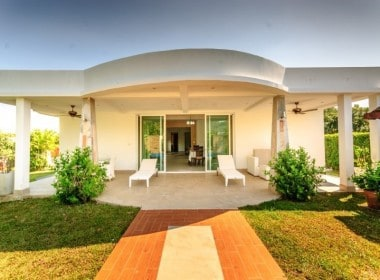 Detached pool home for sale Hua Hin front view