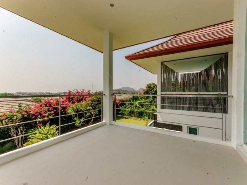 Sea view villa for sale Phu Montra Hua Hin garden view