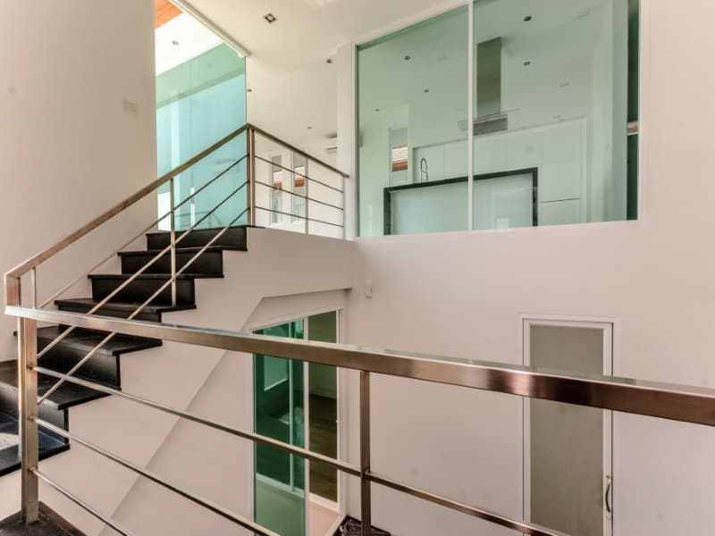 Sea view villa for sale Phu Montra Hua Hin stairwell
