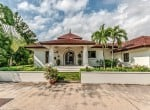 Traditionally designed Hua Hin villa for sale front view
