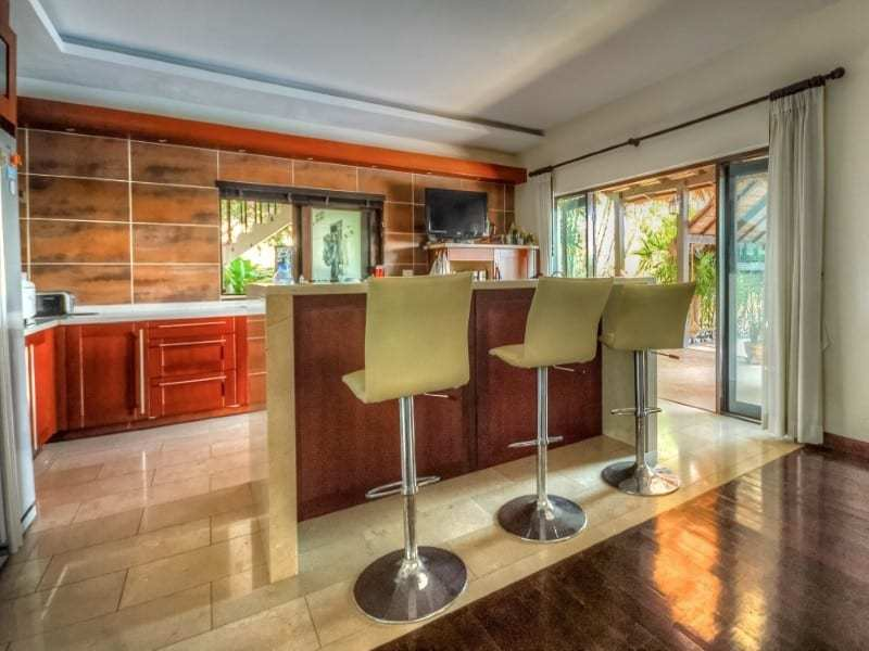Double level villa near Pranburi for sale breakfast bar